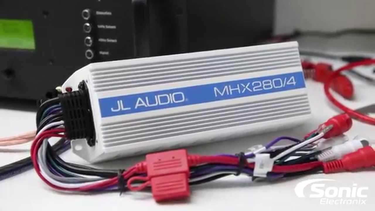 JL Audio MHX2804 Marine Amplifier Dyno Test   SMD D'Amore