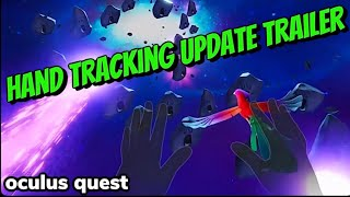 Oculus Quest Hand tracking Update is LIVE! MORE INFO in Description
