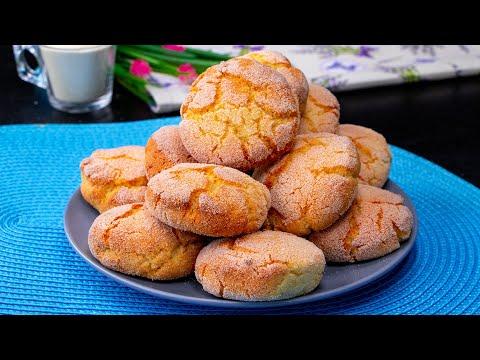recette-facile,-rapide-et-délicieuse-de-biscuits-avec-un-seul-œuf!-|-savoureux.tv
