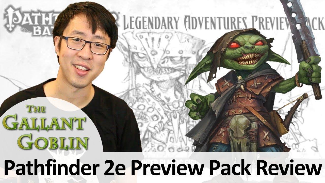 Pathfinder 2e Preview Pack - Legendary Adventures Miniatures - Pathfinder  Battles