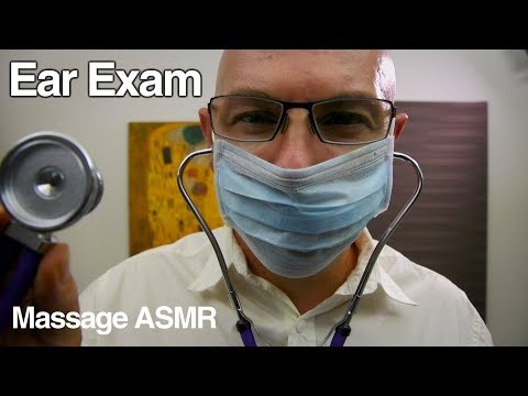 ASMR Roleplay Ear Exam With Dr Dmitri & Medication Consultation