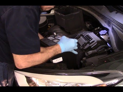 How To Replace A Battery On 2017 2016 Hyundai Santa Fe