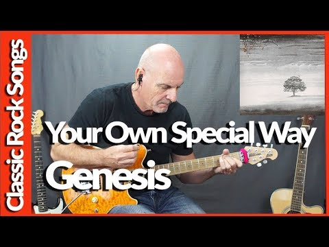 Your Own Special Way By Genesis - Guitar Lesson