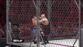 WWE No Way Out 2012 - John Cena vs Big Show - Steel Cage Match