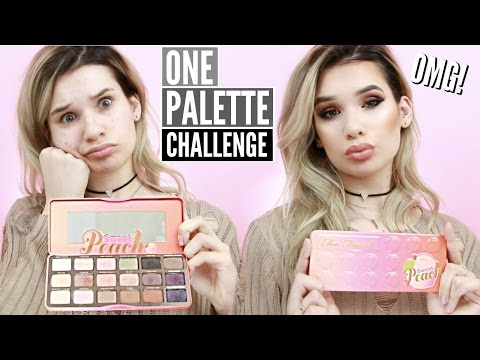 Thumbnail: FULL FACE Using Only ONE EYESHADOW PALETTE Challenge!