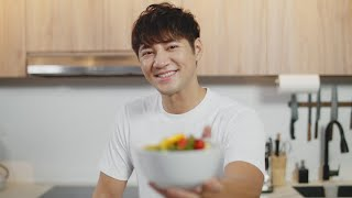 Health WFH Tips from Celebrity Chef Justin Foo   100 Seconds (Ep 13)