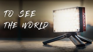 【Aputure AL-MX】THE BRIGHTEST POCKET-SIZED LED