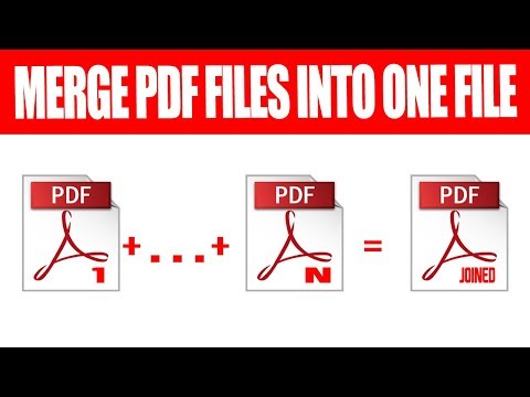 How To Merge Pdf Files Into One Free