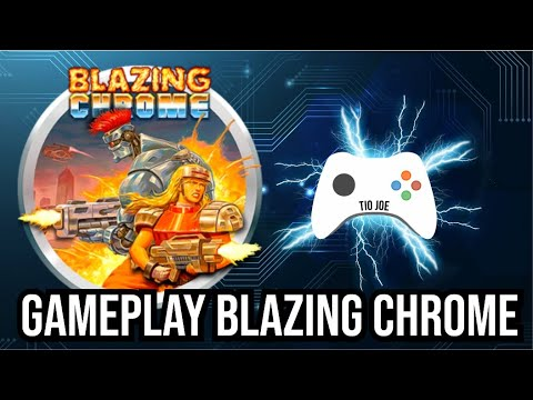 Gameplay de Blazing Chrome - Amazon Prime Gaming - Twitch Prime |