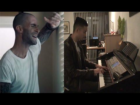 Locked Away - Rock City ft. Adam Levine Piano Cover - YouTube