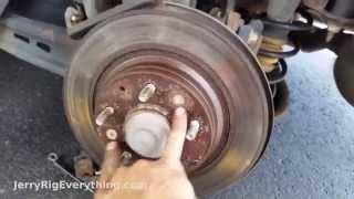 2008 2009 Mazda 6 Non Mazdaspeed OE Replacement Rotors w//Ceramic Pads R