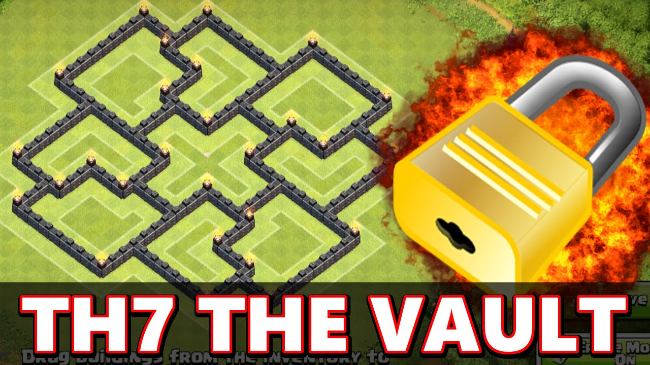 Clash Of Clans Best Town Hall 7 Farming Base Base Building Tips Tricks Strategy 2015 Youtube