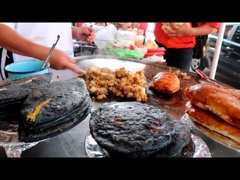 Mouthwatering MEXICO STREET FOOD TOUR - Local food in MEXICO CITY
