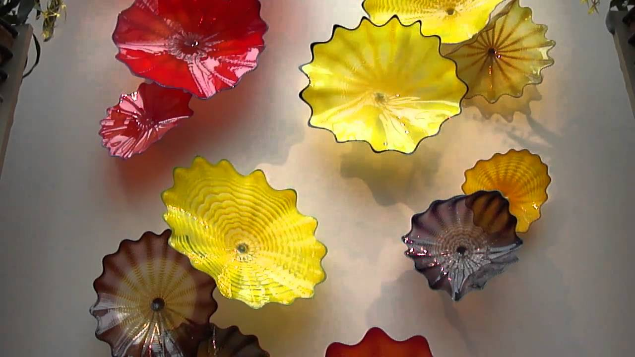 Dale Chihuly Art Glass WALL FLOWER Sculpture Franklin Park ...