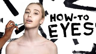 G&F Fall Beauty How-To: Graphic Eye