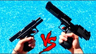 DESERT EAGLE VS GLOCK 18 CUAL ES MEJOR? MIS ARMAS !! Makiman