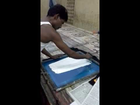 Tshirt printing in 55 Seconds! 230 Rupees (including shipping) anywhere in India