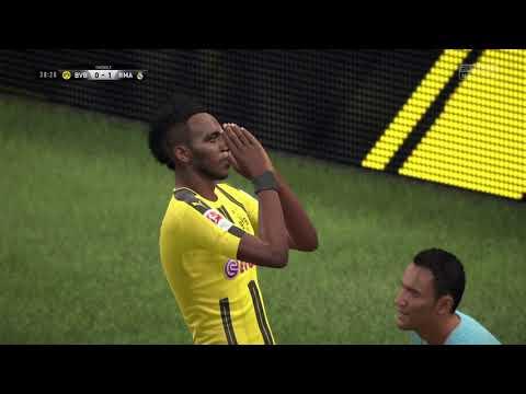 FIFA 17 Dortmund-Real Madrid- Simulare UEFA Champions League