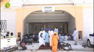 """L'organisation des visites pieuses """"ziarra"""" auprès du Khalif Général des Mourides à Porokhane."""