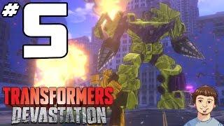 Transformers Devastation Walkthrough - PART 5 - Final Devastator Boss Fight?!?!