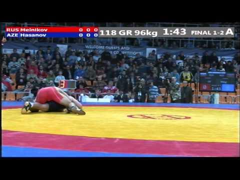 КЕН-2012 96 кг. Никита Мельников - Араз Гасанов