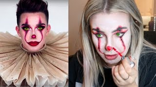 Download RECREATING JAMES CHARLES 'PENNYWISE' TUTORIAL Mp3 and Videos