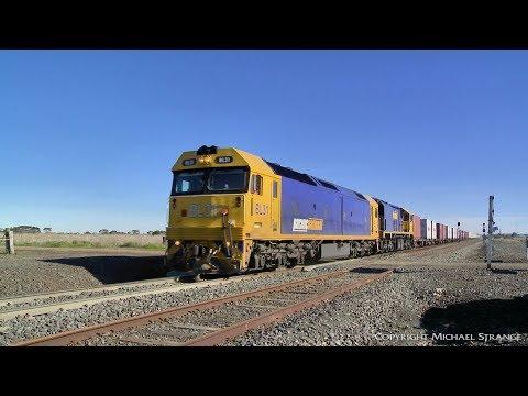 7902V Mildura Container Freight - PoathTV Australian Trains & Railways