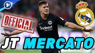 OFFICIEL : le Real Madrid s'offre Luka Jovic pour 60 M€ | Journal du Mercato