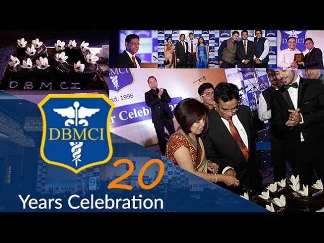 DBMCI 20 Years Celebration - No. 1 Medical Coaching Institute of India