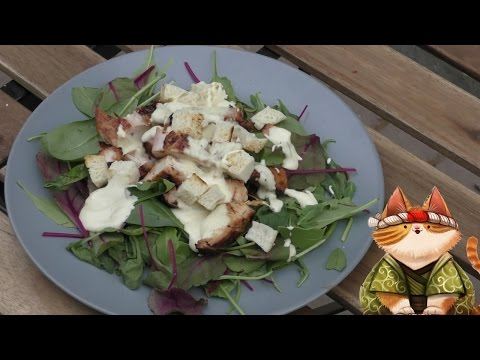 Теплый салат из индейки | Грильков