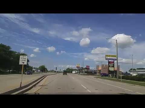 Driving by Sun Prairie,Wisconsin