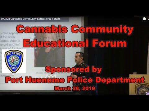 190328 Cannabis Community Educational Forum