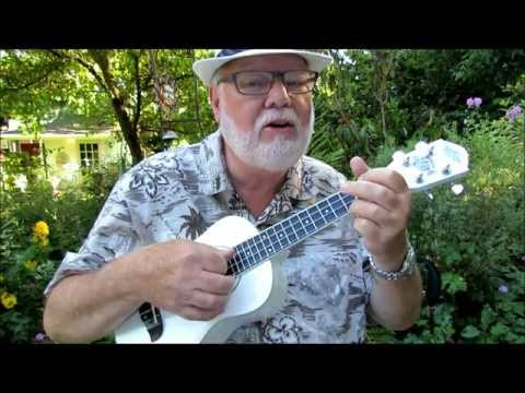 HUSH LITTLE BABY - A children's lullaby - Ukulele Tutorial by UKULELE MIKE LYNCH