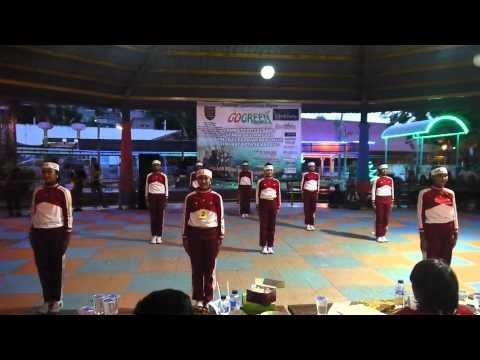 Lomba Senam SKJ 2012 SMP Negeri 5 Semarang, 17 November 2013