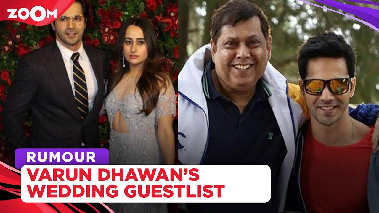 Varun Dhawan and Natasha Dalal's wedding guest list | Bachchan Family, Kapoor Family not present?