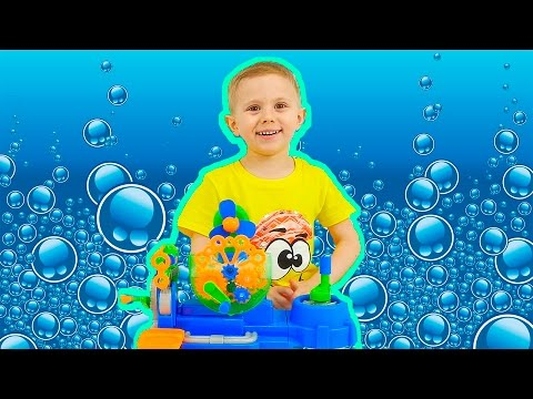 Мыльные Пузыри для детей и Даник - Видео для детей Носики Курносики / Soap Bubbles For Children