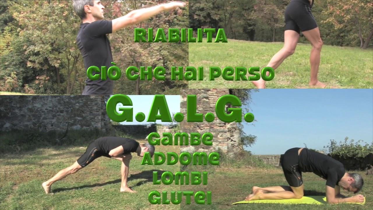 Come recuperare Forza, Resistenza, mobilità e flessibilità di Gambe, Addominali, Lombari e Glutei