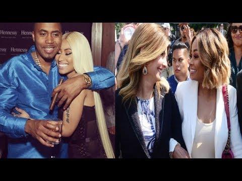 Rob Kardashian Has to Pay Blac Chyna $20K A Month In ChildSupport+ Nas & Nicki KISS on IG!