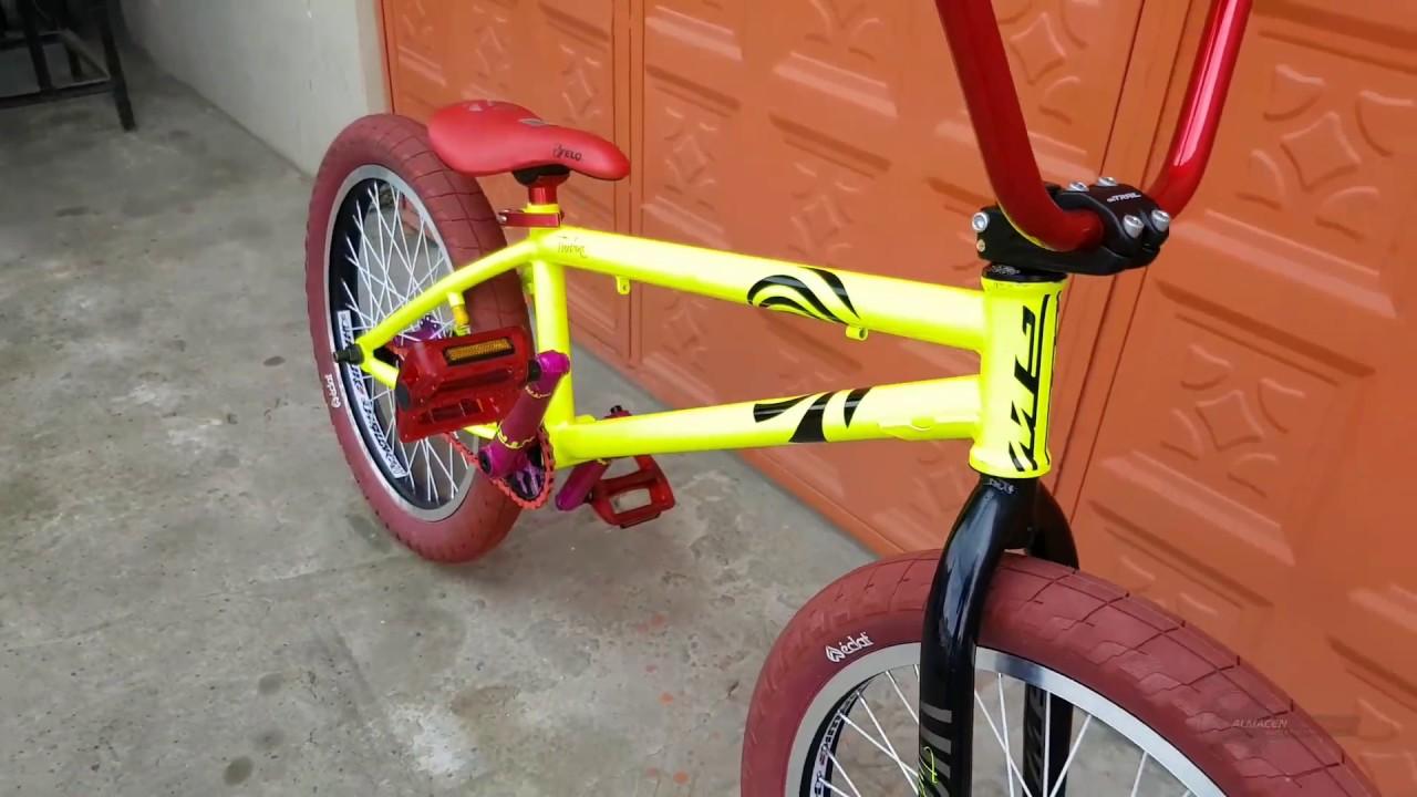 Bicicleta Bmx GW Turbine CrMo Eclat - YouTube