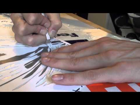 How To Do Stencil Art-From Start To Finish-By Paul the DJ