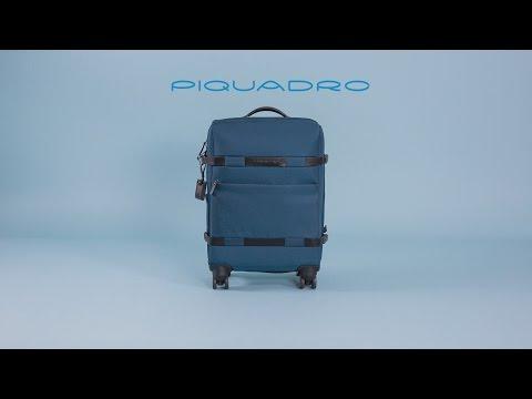 2066d9c07d Piquadro Move 2 Zaino Portabilità a Trolley, Sintetico, Verde, 48 cm ...