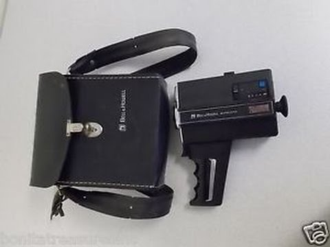 Bell and Howell 670/XL Super 8 camera review