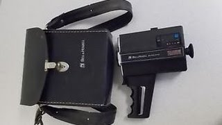 Bell and Howell 670/XL Super 8 camera