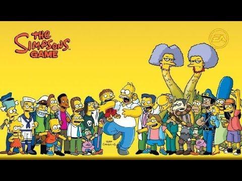 Los Simpsons: el videojuego (cinemáticas en español)