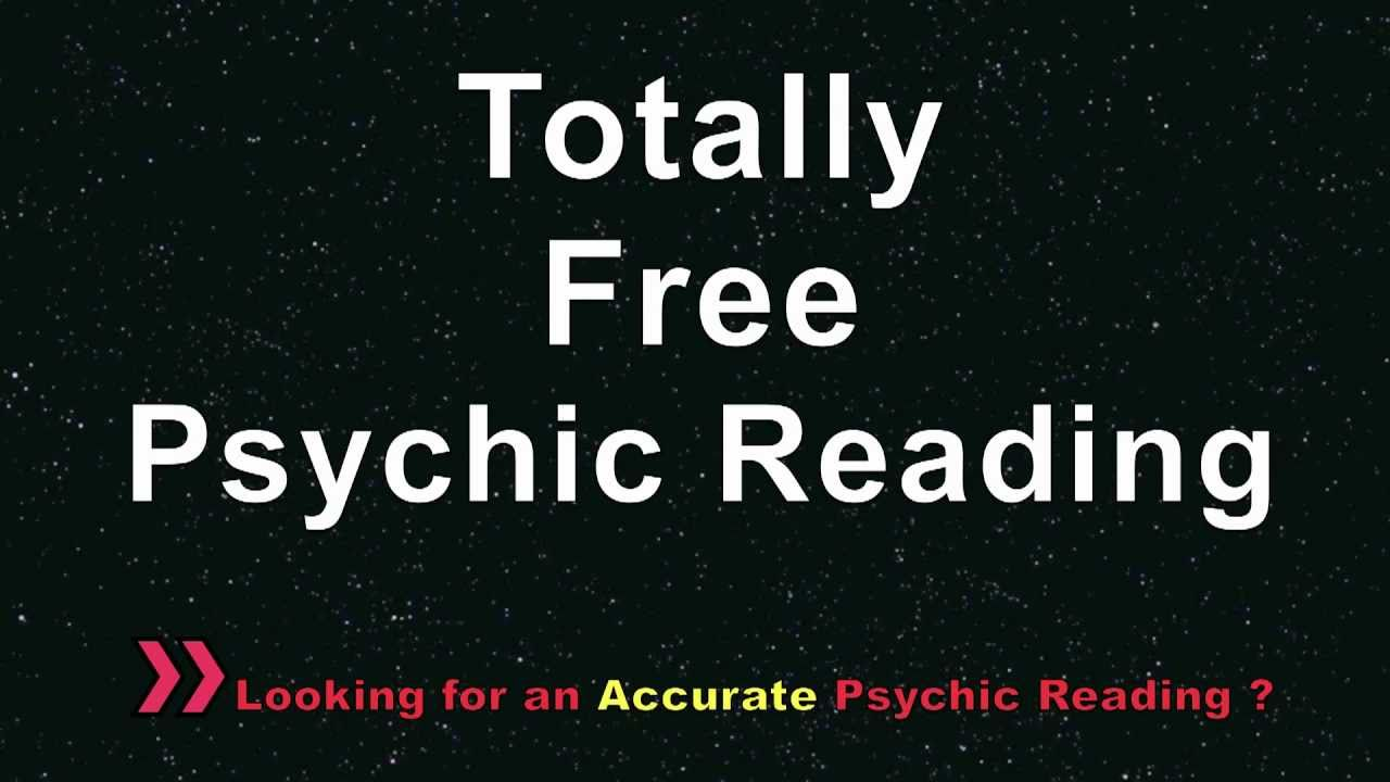 Totally Free Psychic Reading @ free777reading.com - YouTube