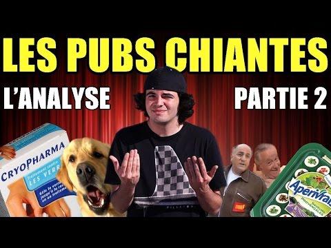 LES PUBS CHIANTES (Partie 2) : L'ANALYSE de MisterJDay
