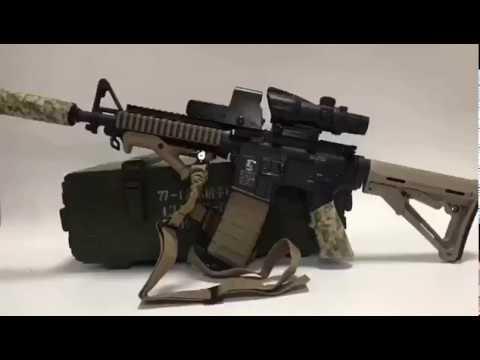 Детский карабин M4A1 на шариках Orbeez