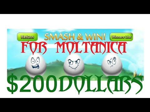 castle clash smashing $200 dollars worth of eggs for moltanica