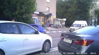 В Иванове пьяный водитель уснул прямо за рулем