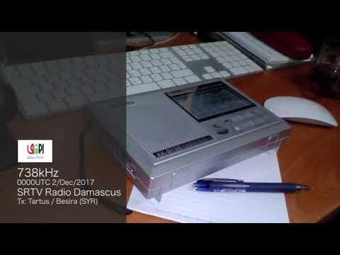 738kHz SRTV Radio Damascus
